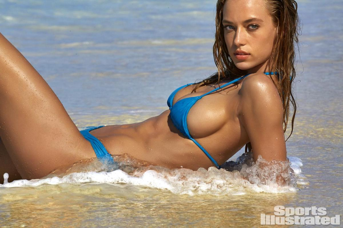 Hannah Ferguson Lights up S.I Swimsuit in Turks and Caicos
